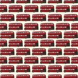 Double decker pattern Stock Photo