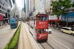 Double-decker tram Stock Image