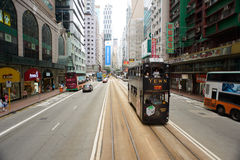 Double-decker tram Royalty Free Stock Image