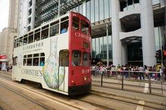 Double-decker tram Stock Photography