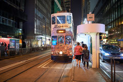 Double-decker tramway Stock Photography