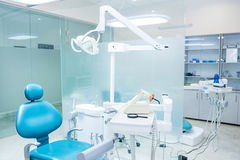 Double Dental office. Selective focus royalty free stock photography