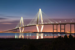 Arthur Ravenel Jr. Cooper River Bridge Charleston  Stock Images
