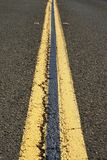 Double Dividing Lines Royalty Free Stock Photography