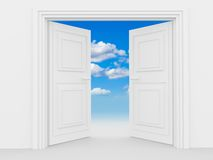 Double door Stock Images