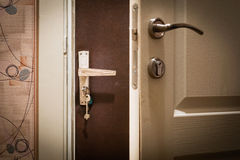 Double Door at Home Royalty Free Stock Photo