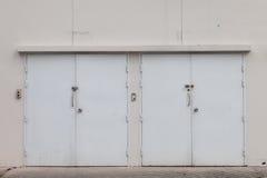 Double door Royalty Free Stock Image