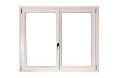 Double door window Royalty Free Stock Images