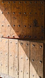 Double Door Wooden Stock Images