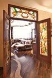 Double doors Stock Images