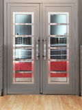 Double doors Royalty Free Stock Images