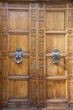 Double doors Stock Photography