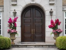 Double doors Royalty Free Stock Image