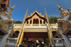 Double Dragon temple Stock Image