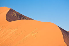 Double dune stock photography