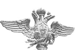 Double eagle isolated Royalty Free Stock Photos