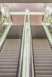 Double escalator Stock Images