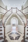 Double escalier Image libre de droits