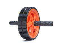 Double exercise wheel Royalty Free Stock Photo