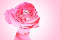 Double exposition de jeune mariée de beauté Photographie stock libre de droits