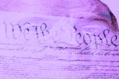 Double exposure finance and government concept Stock Photos