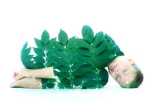 Double exposure Royalty Free Stock Image