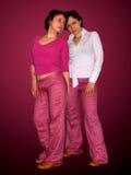 Double Fashion. Model Royalty Free Stock Image