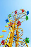 The double ferris wheel Stock Images