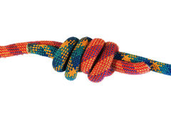 Double fisherman knot Royalty Free Stock Images