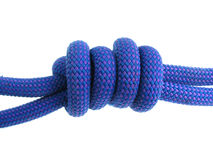 Double fishermans knot Stock Image