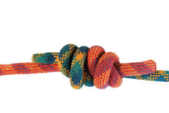 Double fishermans knot Stock Photography