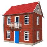 Double-floor cottage Stock Image