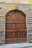 Double front door Royalty Free Stock Images