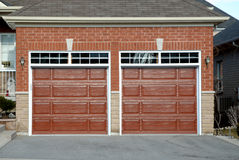 Double Garage Stock Images