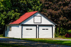 Double garage Stock Photography
