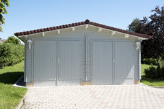 Double Garage Royalty Free Stock Images