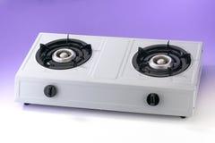 Double gas stove Royalty Free Stock Photos