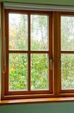 Modern Wooden window Stock Photography