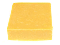 Double Gloucester Cheese Royalty Free Stock Photos