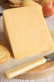 Double Gloucester Cheese Stock Image