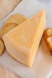 Double Gloucester Cheese Royalty Free Stock Photography