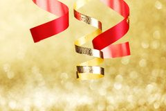 Double gold stroke Royalty Free Stock Photo