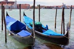 Double gondola stock photo