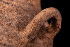 Double-handle pot  detail Stock Image