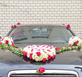 Double happiness wedding car Royalty Free Stock Photos