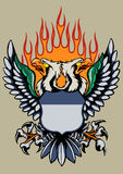 Double Head eagle Stock Image