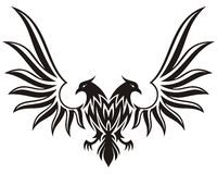 Double headed eagle 2 Stock Photos