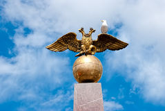 Double-headed eagle. Stock Image