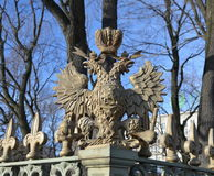 The double-headed eagle Royalty Free Stock Image