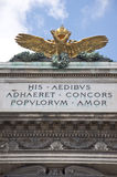 Double-Headed Eagle atop Hofburg Palace, Vienna Stock Photography